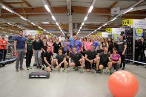 Décathlon et Coach For Life organisent un événement sportif à l'interieur du magasin