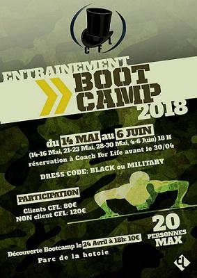 Bootcamp, entraînement des troupes Coach For Life au Parc de la Hotoie à Amiens dans le 80