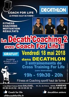 Mise à l'honneur de votre centre sportif par Décathlon Amiens