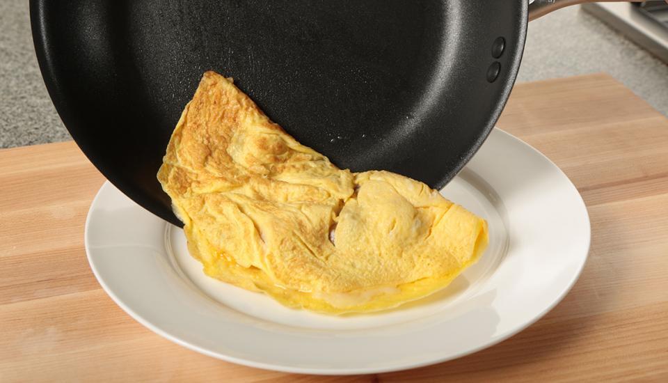 Omelette protéinée
