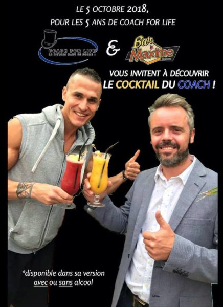 Coach For Life fête ses 5 ans au bar Maxime