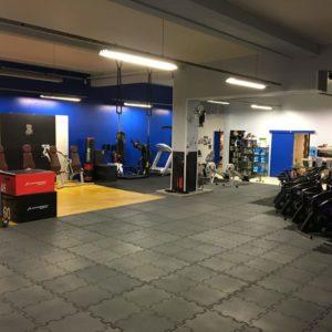 espace renforcement musculaire et circuit training