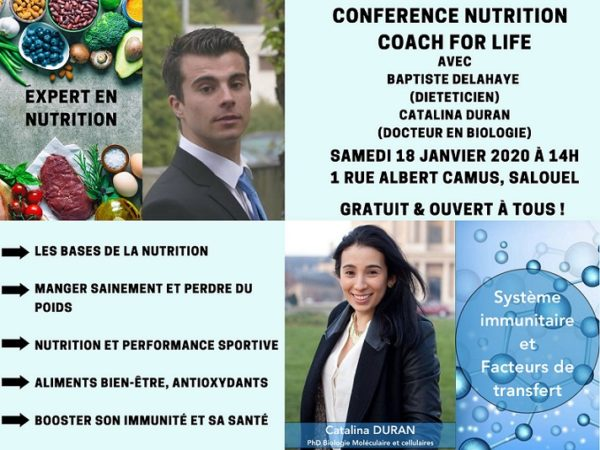 Rendez-vous nutrition à Coach For Life