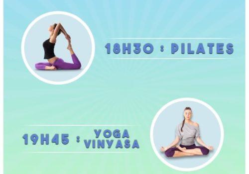 Cours de Pilates et de Yoga avec Coach For Life