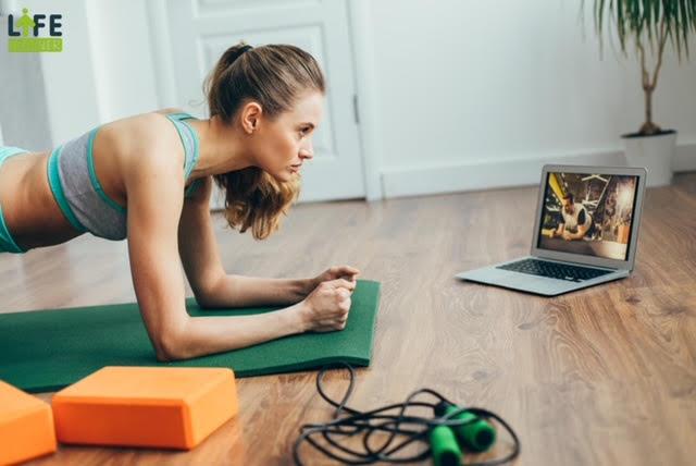 Coaching Fitness en visio proposé par Coach For Life