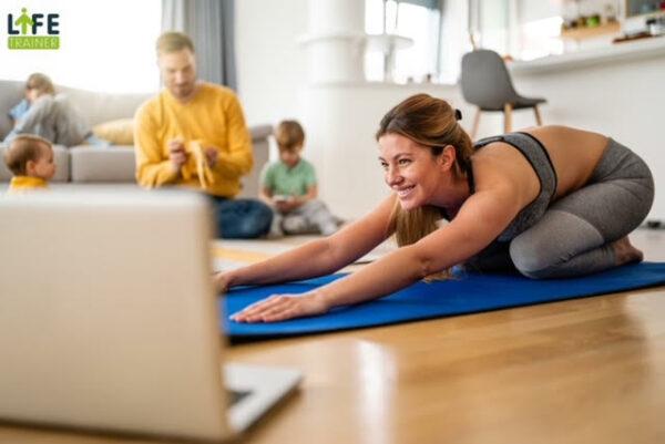 Life Trainer est une application de coaching fitness en visio