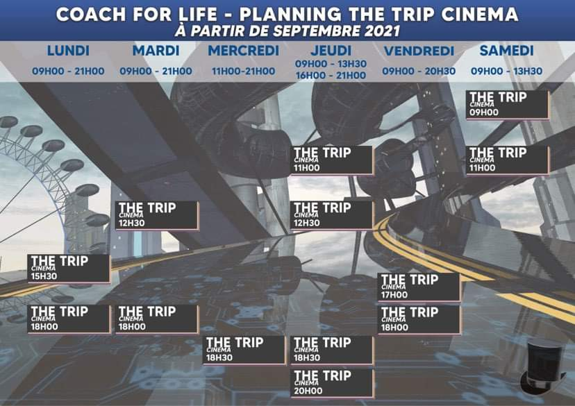 The Trip Immersive planning